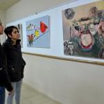 066 150x150 - Resim Öğrencilerinin Çalışmaları Sergileniyor