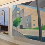 093 150x150 - Resim Öğrencilerinin Çalışmaları Sergileniyor