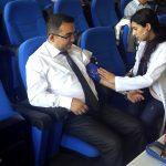 01 150x150 - AİBÜ'de Halk Otobüsü Şoförlerine Sağlık Taraması
