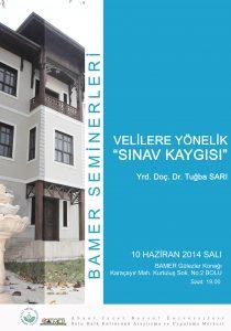 """Afiş1 210x300 - Konferans: Velilere Yönelik """"Sınav Kaygısı"""""""
