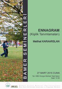 BAMER 20 MART 210x300 - Seminer: Ennagram (Kişilik Tanımlamaları)