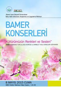 BAMER KONSER 8 mays 2015