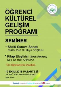 kültürel19 ekım