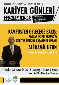 Ali Kamil Uzun Konferans