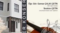 Bugün akşam (13 Ocak 2016 Çarşamba) Gülezler Konağında gerçekleşecek Ezgiler Türküler Bizi Söyler isimli konser ileri bir tarihe ertelenmiştir. Duyurulur.