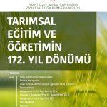20180110 tarim 150x150 - Tarımsal Eğitim ve Öğretimin 172. Yıl Dönümü