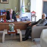 DSC 0378 150x150 - Bolu Çimento Genel Müdürü Yenice'den Rektör Alişarlı'ya Ziyaret…