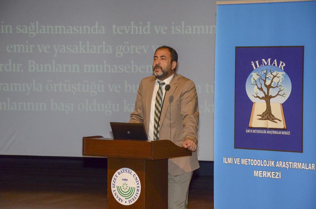 """DSC 0216 - Türkiye'de İlk Kez Düzenlenen """"Tevhidi Düşünce Işığında İlim Dallarının Yeniden İnşası Şurası"""" BAİBÜ'de Başladı"""