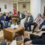 DSC 3646 150x150 - Genç İş Adamlarından Rektör Alişarlı'ya Ziyaret...