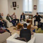 DSC 3653 150x150 - Genç İş Adamlarından Rektör Alişarlı'ya Ziyaret...