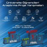 UniversiteOgrencileriArastirmaProjeYarismalari 150x150 - Üniversite Öğrencileri TÜBİTAK Araştırma Proje Yarışması
