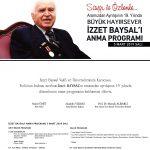 davetiye19 150x150 - 5 Mart İzzet Baysal'ı Anma Programı