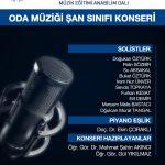 odamuziğiafis 150x150 - Oda Müziği Şan Sınıfı Konseri