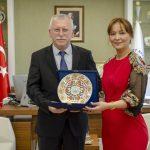 DSC 9061 150x150 - Kazakistan Turan Üniversitesi'nden Rektör Alişarlı'ya Ziyaret