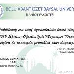 Davetiye 1 150x150 - BAİBÜ 2018-2019 İlahiyat Fakültesi Mezuniyet Töreni
