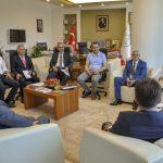 DSC 0090 1 150x150 - Türkiye Cimnastik Federasyonu Başkanı Suat Çelen'den Rektör Alişarlı'ya Ziyaret