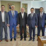 DSC 0122 1 150x150 - Türkiye Cimnastik Federasyonu Başkanı Suat Çelen'den Rektör Alişarlı'ya Ziyaret