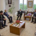 DSC 0276 150x150 - SEDAŞ Proje Fikri Yarışması'nda Ödül Alan Öğrencilerden Rektör Alişarlı'ya Ziyaret