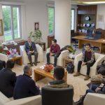 DSC 0286 150x150 - SEDAŞ Proje Fikri Yarışması'nda Ödül Alan Öğrencilerden Rektör Alişarlı'ya Ziyaret