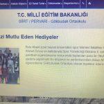 Gokbudakortaokulu 5 150x150 - BAİBÜ Öğrencilerinin Yardımseverliği Siirt'teki Kardeşlerini Mutlu Etti