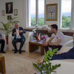 DSC 6393 150x150 - Avrupa Gençler Güreş Şampiyonası'ndan Madalyayla Dönen Abdülvasi Balta'dan Rektör Alişarlı'ya Ziyaret