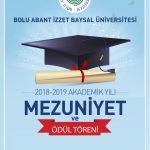 mezuniyetafis 2019 150x150 - BAİBÜ 2018-2019 Akademik Yılı Mezuniyet ve Ödül Töreni