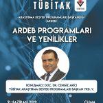 tubitakafiş 1 150x150 - TÜBİTAK-ARDEB Programları ve Yenilikler