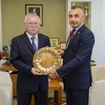 DSC 4870 150x150 - Irak Büyükelçiliği Kültür Müsteşarından Rektör Alişarlı'ya Ziyaret