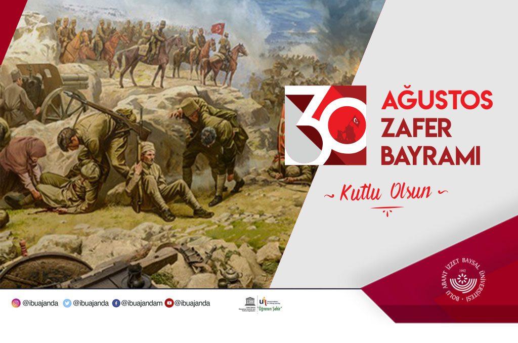 30 ağustos 2019 banner2 1024x678 - Prof. Dr. Mustafa Alişarlı'nın Zafer Bayramı Mesajı