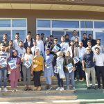 WhatsApp Image 2019 08 05 at 15.09.17 150x150 - Üniversitemizde Staj Yapan Iraklı Öğrenciler Sertifikalarını Aldı