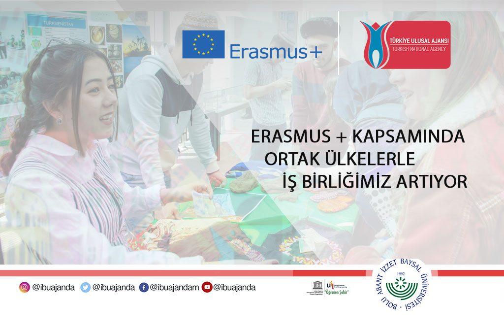 erasmusisbirliği 1024x678 - Erasmus+ Kapsamında Ortak Ülkelerle İş Birliğimiz Artıyor