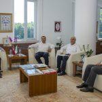 DSC 3198 1 150x150 - Rektör Alişarlı'ya Hayırlı Olsun Ziyareti