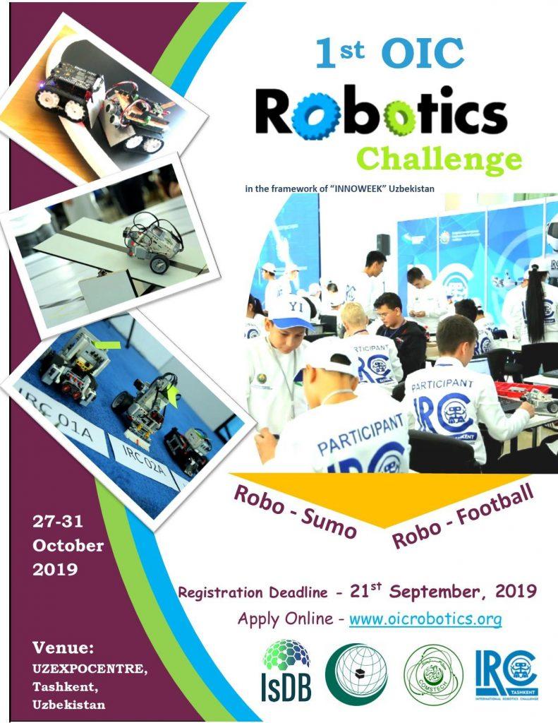 OIC Robotics Challenge 791x1024 - Özbekistan Robotik Yarışması / 27-31 Ekim 2019
