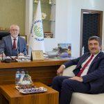 DSC 4544 150x150 - Gerede Belediye Başkanı Allar Rektör Alişarlı'yı Ziyaret Etti