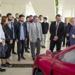 DSC 6223 150x150 - TÜBİTAK Başkanı, Ayvaz ve Baysal Elektromobil Proje Ekibini Ziyaret Etti