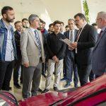 DSC 6248 150x150 - TÜBİTAK Başkanı, Ayvaz ve Baysal Elektromobil Proje Ekibini Ziyaret Etti