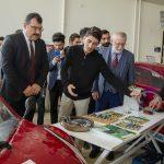 DSC 6256 150x150 - TÜBİTAK Başkanı, Ayvaz ve Baysal Elektromobil Proje Ekibini Ziyaret Etti