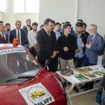 DSC 6276 150x150 - TÜBİTAK Başkanı, Ayvaz ve Baysal Elektromobil Proje Ekibini Ziyaret Etti