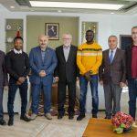 DSC 6631a 150x150 - Aybastı Belediye Başkanı Geçtan, Rektör Alişarlı'yı Ziyaret Etti