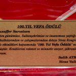 DSC 7627 150x150 - Muzaffer Sarısözen Vefa Ödülü, BAİBÜ'den Kemal Bilsel Sarısözen'e Verildi