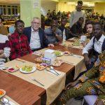 DSC 7705 150x150 - Uluslararası Öğrenciler 'Hoş Geldin Yemeği'nde Bir Araya Geldi