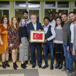 DSC 7816 150x150 - Uluslararası Öğrenciler 'Hoş Geldin Yemeği'nde Bir Araya Geldi