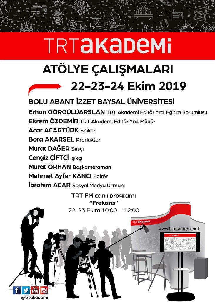 """TRT Akademi 2019 1 731x1024 - TRT Akademi Atölye Çalışmaları ve Canlı Yayın Programı """"Frekans"""""""