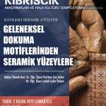 atölye 5 150x150 - Kıbrıscık Araştırmaları ve Halk Kültürü Sempozyumu / 31 Ekim / 1-2 Kasım 2019