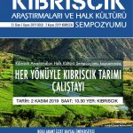 calıstay2 150x150 - Kıbrıscık Araştırmaları ve Halk Kültürü Sempozyumu / 31 Ekim / 1-2 Kasım 2019