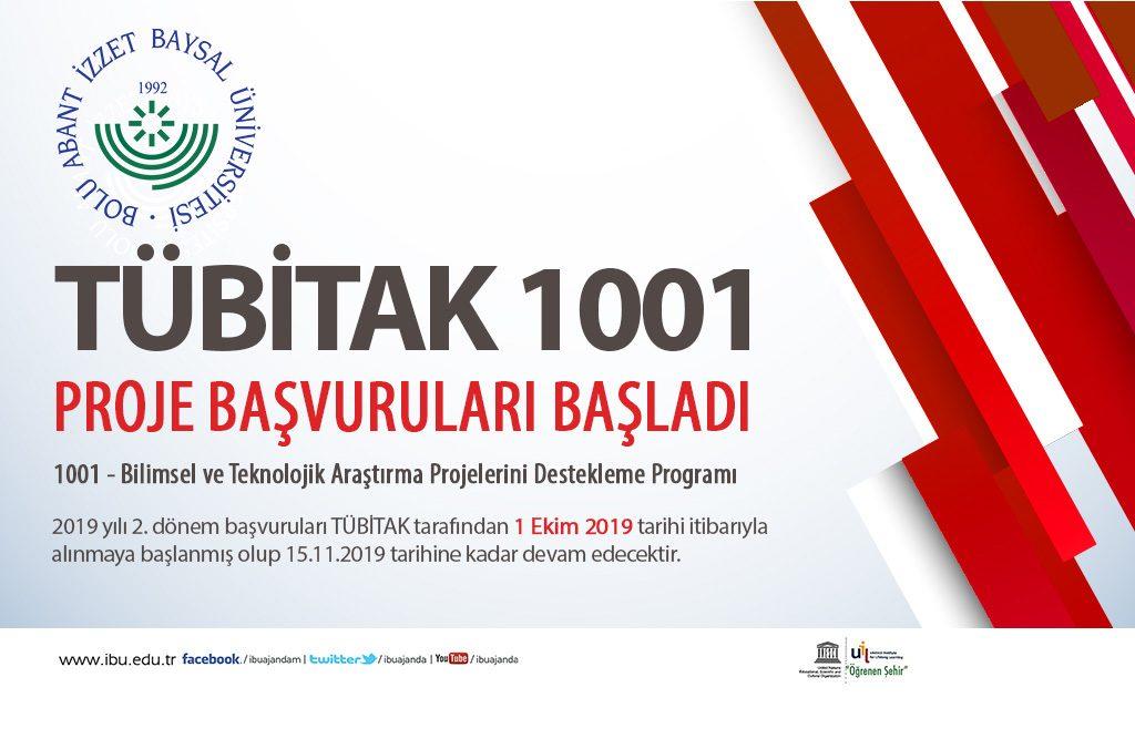 tübitak 1001 2019 1024x676 - TÜBİTAK-1001 Proje Başvuruları Başladı