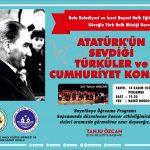 14 Kasım 2019 THM Konser 150x150 - Atatürk'ün Sevdiği Türküler ve Cumhuriyet Konseri