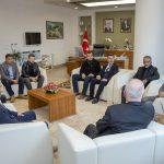 DSC 2536 150x150 - Yeniden Refah Partisi Bolu Yönetiminden Rektör Alişarlı'ya Ziyaret