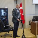 DSC 9096 150x150 - BAİBÜ'de E-Skuter Tanıtımı Yapıldı