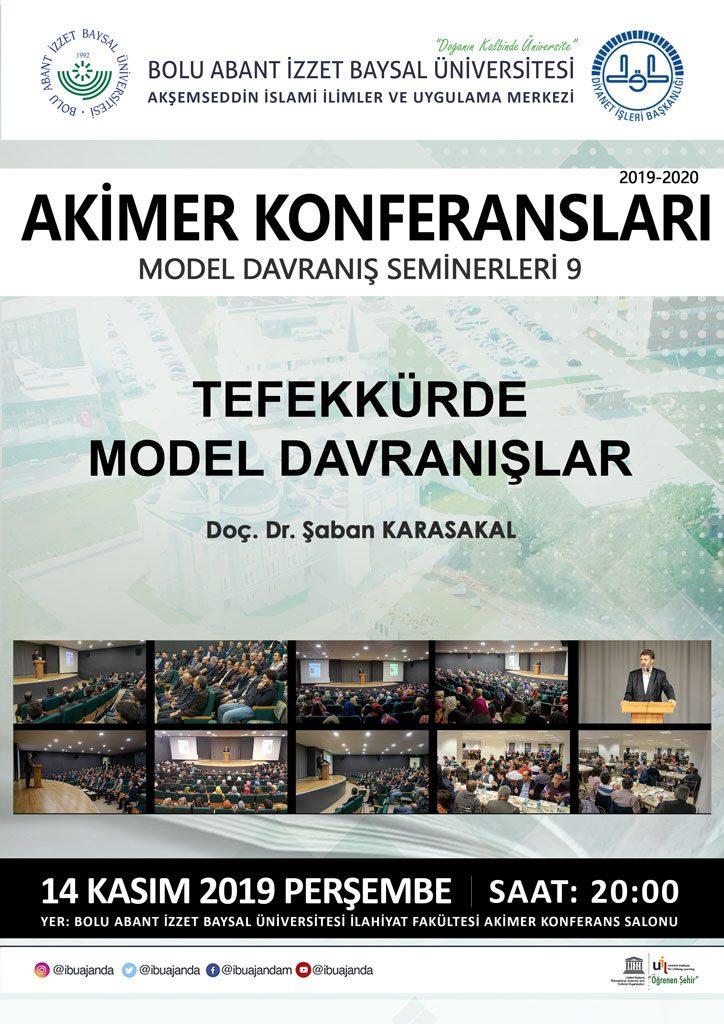 akimer konferansları 9 724x1024 - AKİMER - Tefekkürde Model Davranışlar / Konferans